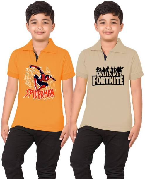 Tee Weavers Boys Printed Cotton Blend T Shirt