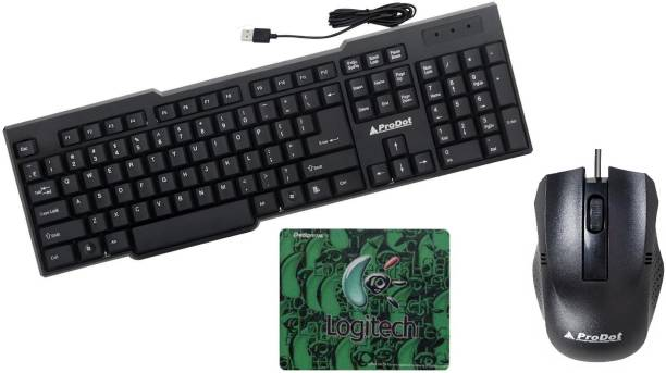 ProDot 3 in 1 combo (keyboard,mouse,mousepad) Combo Set