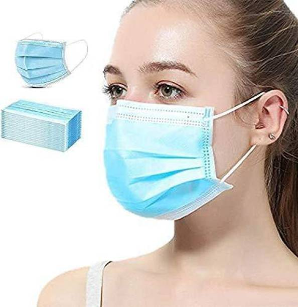 DM SPECIALLY FOR SPECIALIST : Premium Quality 3 Layer Disposable Masks with Nose pin and Ultrasonic Sealed Ear loop Surgical Mask With Melt Blown Fabric Layer