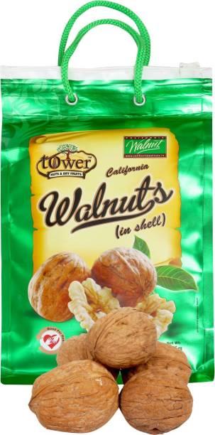Tower 100% Natural Californian Whole Premium Walnuts/Akhrot-1kg Walnuts