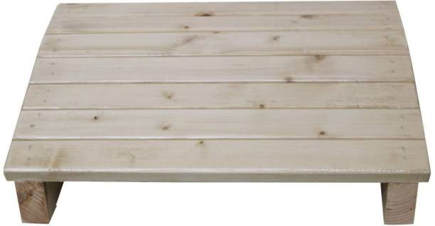 Dime Store footrest stool-natural wood Living & Bedroom Stool