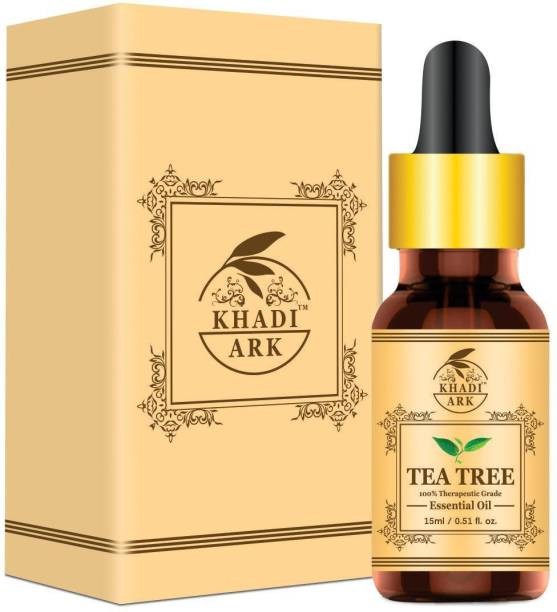 Khadi Ark 100 % Pure Australian Tea Tree Oil for Anti Acne and Glowing Skin