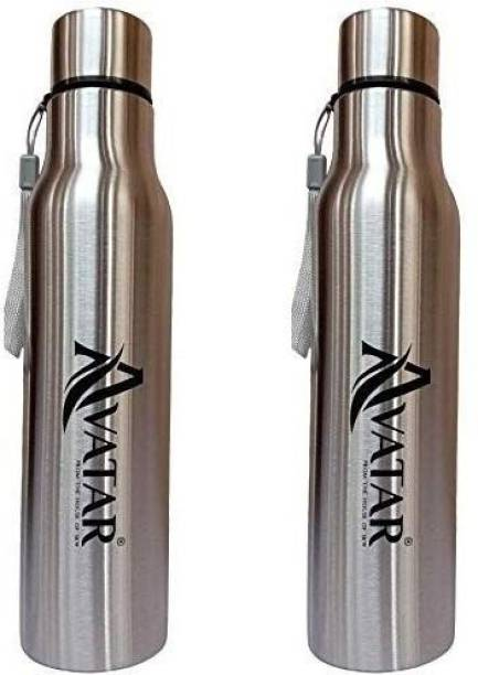 Avatar RAVAN 1000 ML SIDE ROPE STEEL WATER BOTTLE 1000 ml Bottle