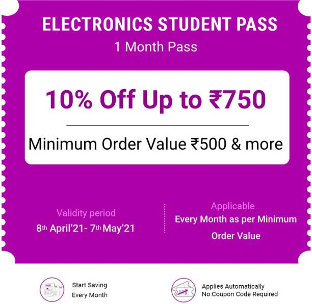 Electronics Monthly pass - 1 Months