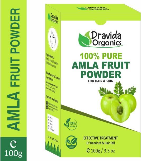 Dravida Organics Amla (100% Natural Powder)