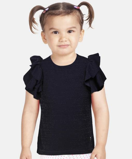 allen solly Girls Polyester Woven Top