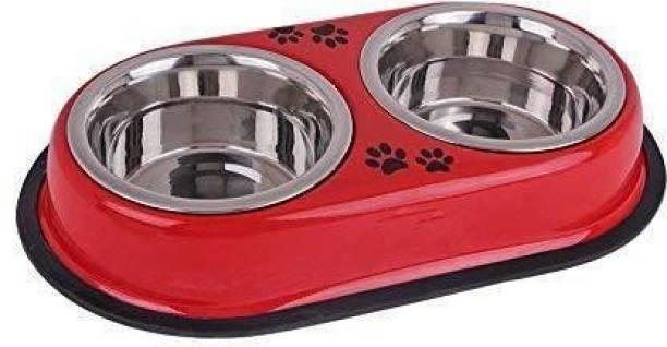 buddy pets eliptical Steel Pet Bowl