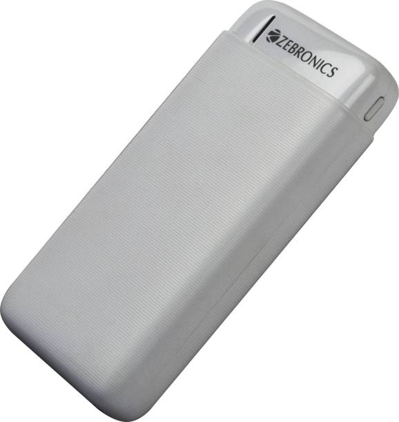 ZEBRONICS 20000 mAh Power Bank (12 W)