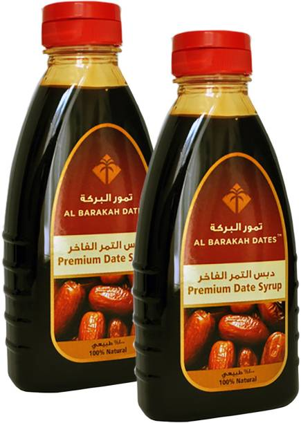 Al Barakah Premium Date Syrup, (PACK OF 2) 800g NATURAL DATES
