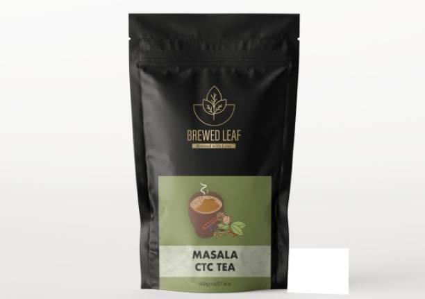 brewed leaf 7 SPICE MASALA CTC,500g Spices Masala Tea Pouch