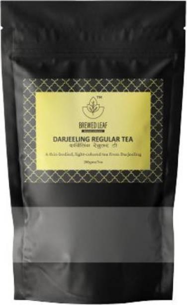 brewed leaf DARJEELING REGULAR TEA,200g Unflavoured Black Tea Pouch