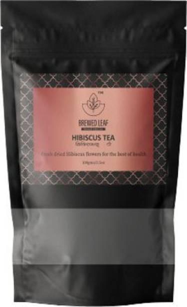 brewed leaf HIBISCUS TEA,100g Hibiscus Tea Pouch