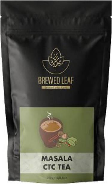 brewed leaf 7 SPICE MASALA CTC,250g Spices Masala Tea Pouch