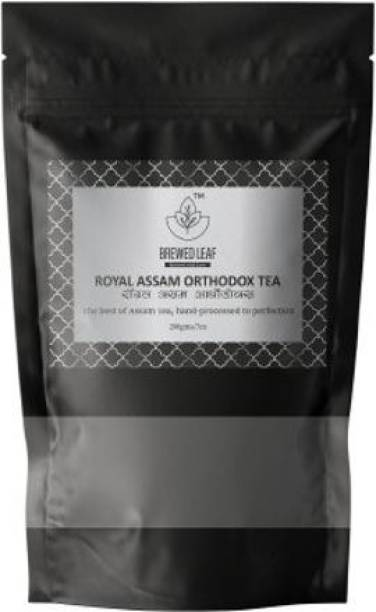 brewed leaf ROYAL ASSAM ORTHODOX,200g Unflavoured Black Tea Pouch