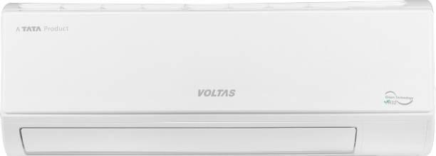 Voltas 2 in 1 Convertible Cooling 1.2 Ton 5 Star Split Inverter AC  - White