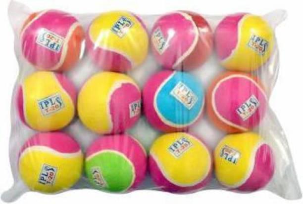 br diamond MULTICOLOR TENNIS BALL PACK OF 12 Tennis Ball