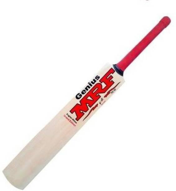 MRF (SIZE-5) WOODEN KASHMERI POPULER WILLOW BAT Poplar Willow Cricket  Bat