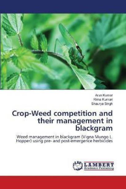 Crop-Weed competition and their management in blackgram