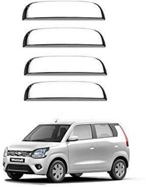 JEET ENTERPRISES Wagonr 2019 Chrome Plated Door Handles set of 4 Maruti Car Door Handle