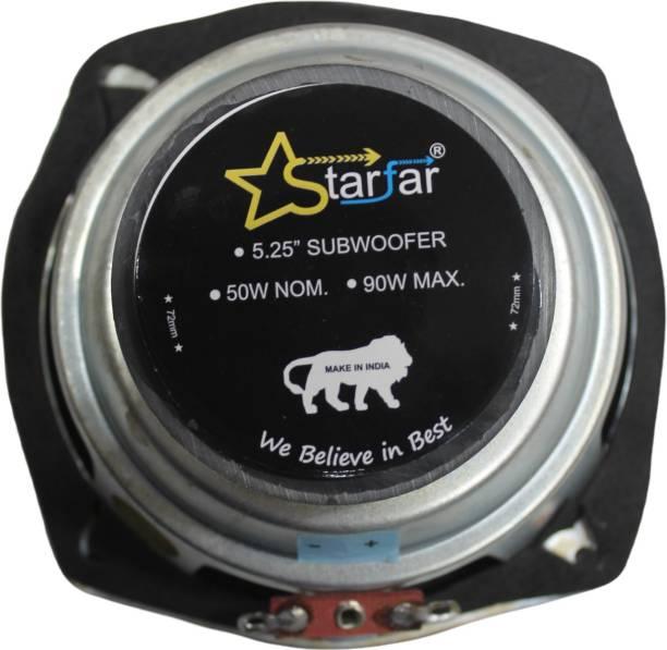 "Starfar 5.25""(72) Starfar 5.25 inches Subwoofer 8Ohms/90Watts/72mmMagnet Subwoofer"