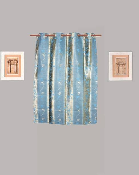 HOMEFLY 150 cm (5 ft) Polycotton Window Curtain Single Curtain