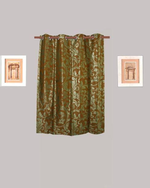 HOMEFLY 150 cm (5 ft) Polyester Window Curtain Single Curtain