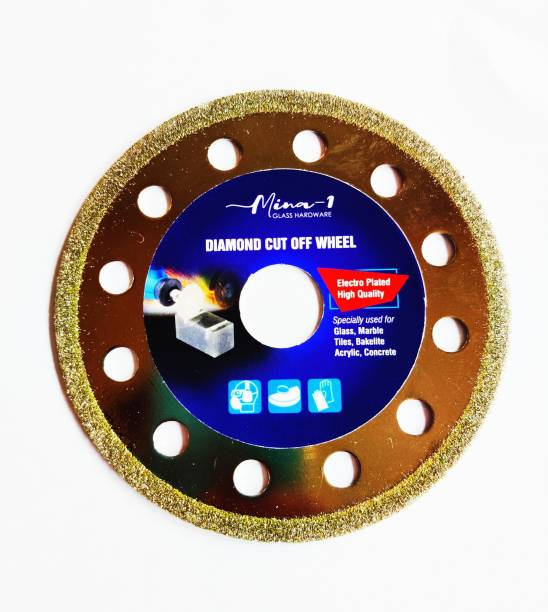 max deals Cut Off Wheel for Glass 110 mm Diameter &1 mm Thickness Pack of 1 Pcs Glass Cutter