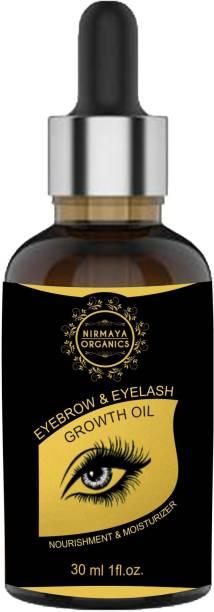 Nirmaya Organics Eyebrow Enhancer | Eyebrow & Eyelash Growth Oil With Natural Ingredients - 30ml 30 ml
