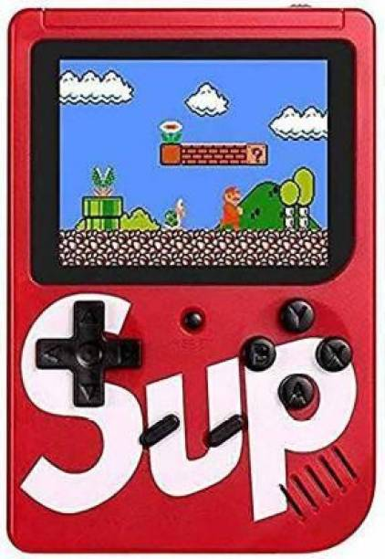 frixty TV Video Game SUP Game Box with Mario/Super Mario/DR Mario/Contra/Turtles & Other 400+ Games with Battery Included with 400