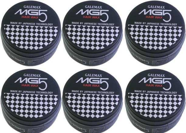 GALEMAX MG5 Hair Wax For Hair Styling Japanese Technology (600 Gram) Pack 6 600 gm Hair Gel