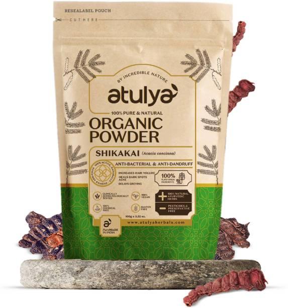 Atulya Shikakai 100% Pure & Natural Organic Powder