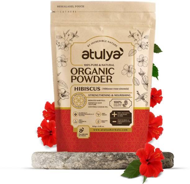 Atulya Hibiscus 100% Pure & Natural Organic Powder