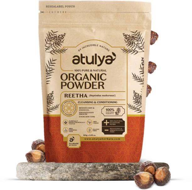 Atulya Reetha 100% Pure & Natural Organic Powder