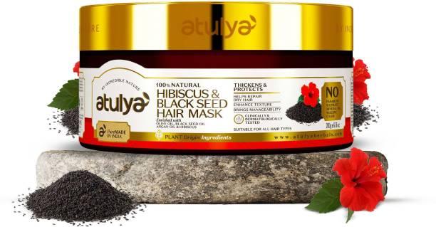 Atulya Hibiscus & Black Seed Hair Mask
