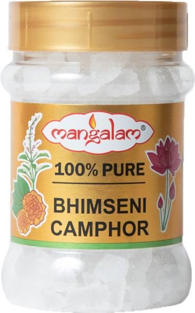 MANGALAM Bhimseni Camphor 100g Jar - Pack of 1