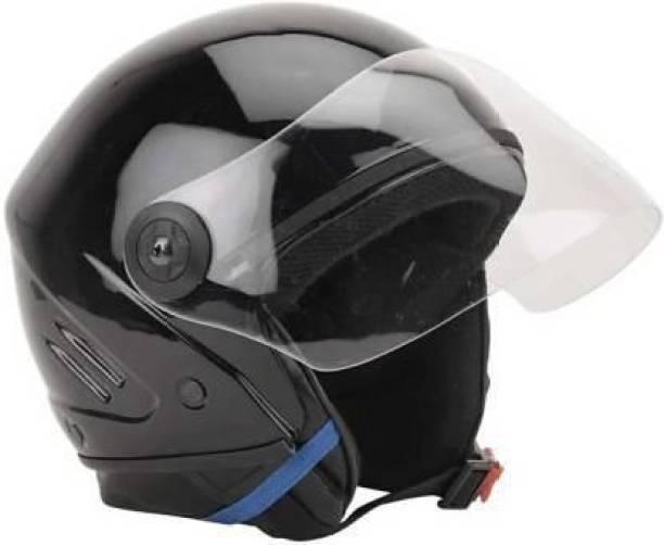 Speedfly HALF FACE UNISEX HELMET Motorbike Helmet (Black) Motorbike Helmet