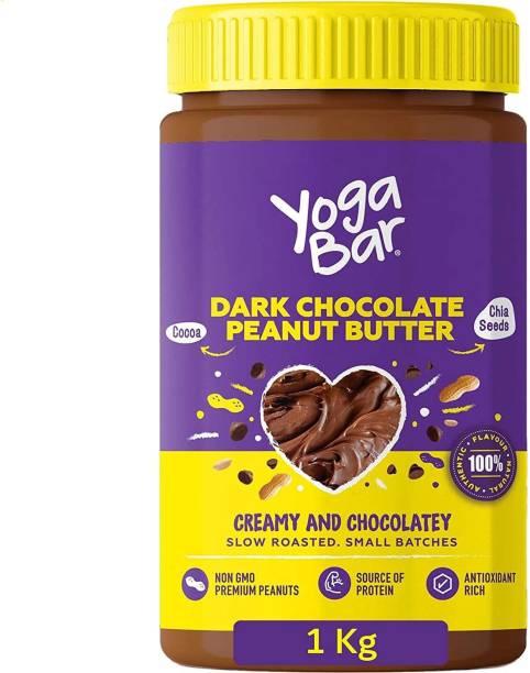 Yogabar Peanut Butter Dark Chocolate Non-GMO Premium Peanuts 1 kg
