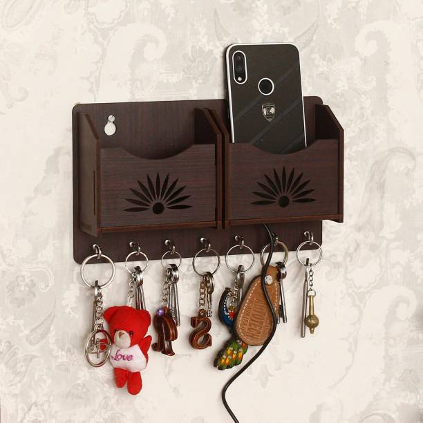 CAPIO ART 2 Mobile Stand WITH KEY HOLDER Wood Key Holder