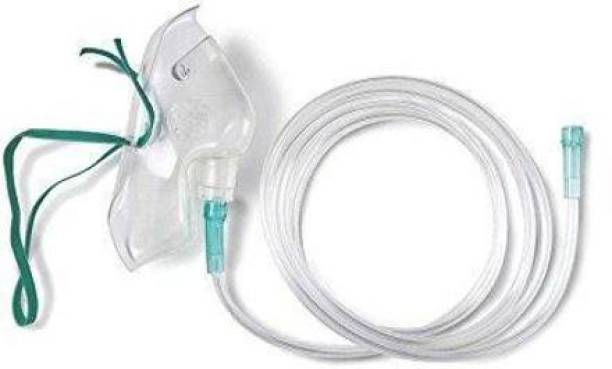 V SURZ Face Mask | Universal Adapter | Adult Mask for Therapy with Long Multi Channel TubE OXYGEN MASK