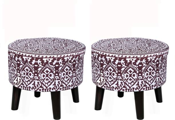 DEVICE OF R Solid Wood Standard Ottoman