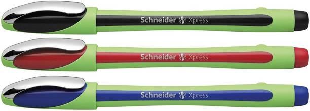 schneider Xpress Fine liner 0.8mm Porous Point Pen, Multicolor Fineliner Pen