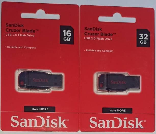 SanDisk 16+32 GB 16 GB Pen Drive