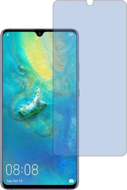 ZINGTEL Tempered Glass Guard for HUAWEI MATE 20 X (Impossible AntiBlue Light)