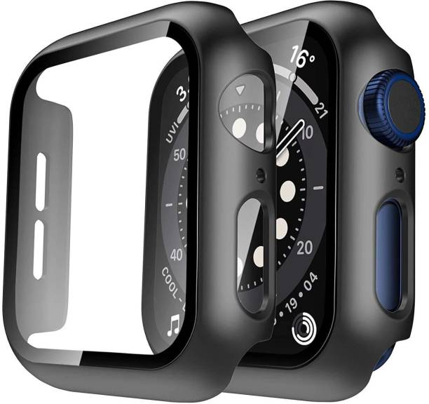 Pishon Tempered Glass Guard for Apple Watch Series SE, Series 5, Series 6