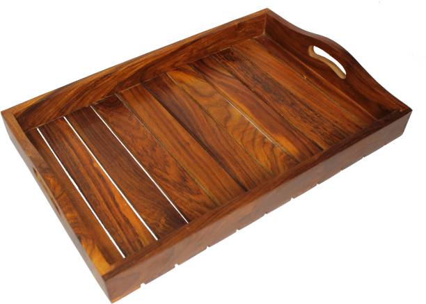 Jk Handicrafts TRAY15X10 Tray Serving Set