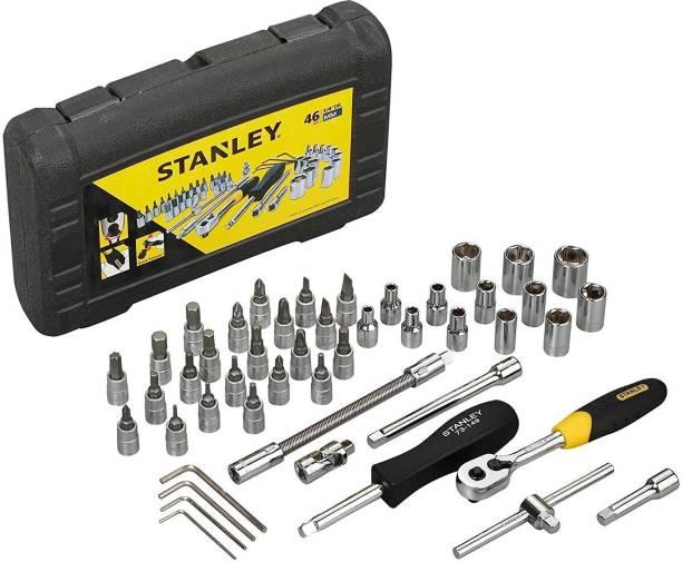 STANLEY 1/4 Inch Sq Dr Socket Set