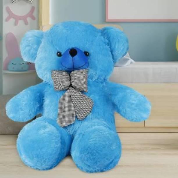 Mrbear 3 feet blue teddy bear\Teddy Bear Hug able And Love able For Someone Special and Happy Birthday gift \Sky Blue Teddy /high quality teddy bear/love teddy /teddy bear for girl friend/cute teddy - 91 cm (Blue)  - 91 cm