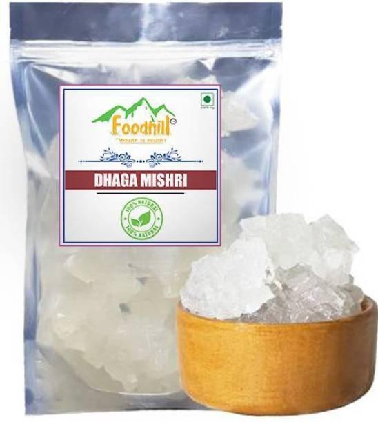 FOODHILL Sugar Thread Fresh (Mishri Dhaga, Dhage wali mishri) Sugar