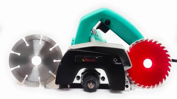 Relfa RF-CM4SA Heavy Duty Marble & Wood Cutter Machine (1050W & 11000RPM) Marble Cutter