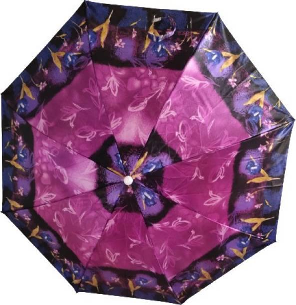 brgumbrella SATIN PRINT FOLDING UMBRELLA Umbrella